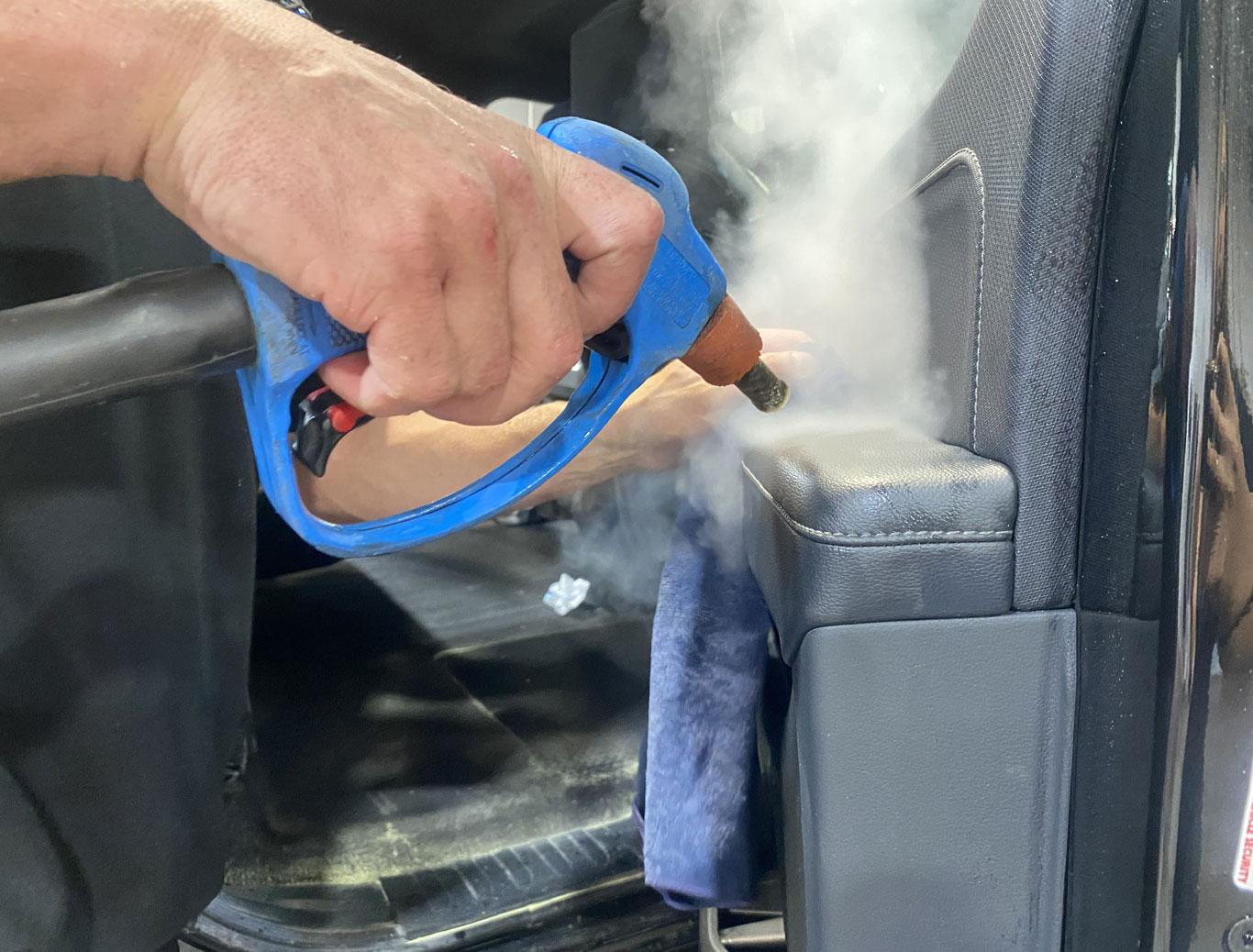 Spotless Auto Detailing - Optima Steamer